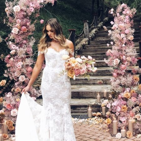 Monique Lhullier - designer wedding dresses for less on PreOwnedWeddingDresses.com