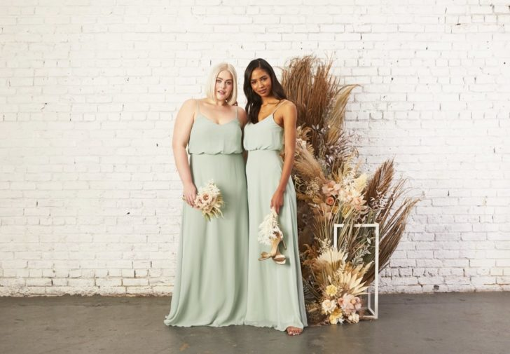 Affordable Bridesmaids Dresses under $100 from Birdy Grey