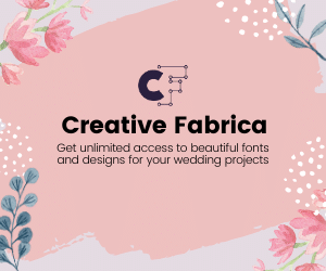 creative fabrica wedding goods