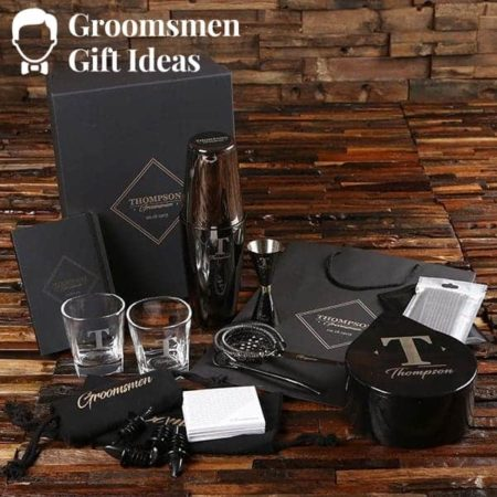 Groomsmen Mixology Gift Set