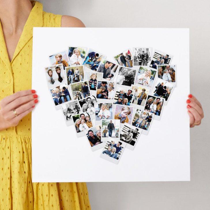 Minted Heart Photo - Custom art print