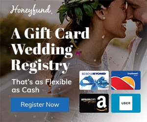 honeyfund - honeymoon cash gift experience wedding registry