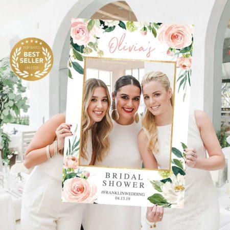 Bridal Shower Photo Prop Frame