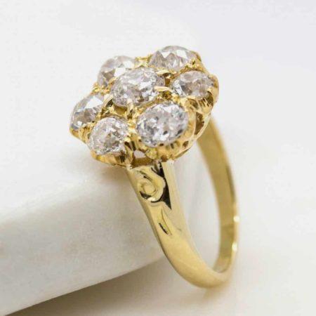 Georgian engagement ring style