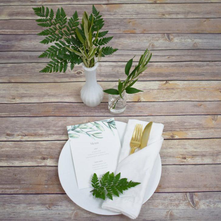 greenery wedding inspiration