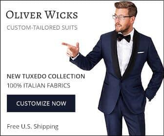 oliver wicks custom suit