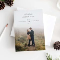 printable save the date design