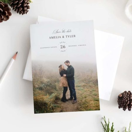 Rustic Save the Date Printable