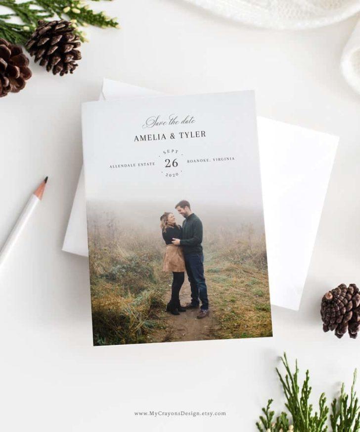 printable save the date design