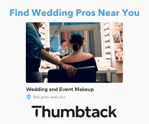thumbtack wedding