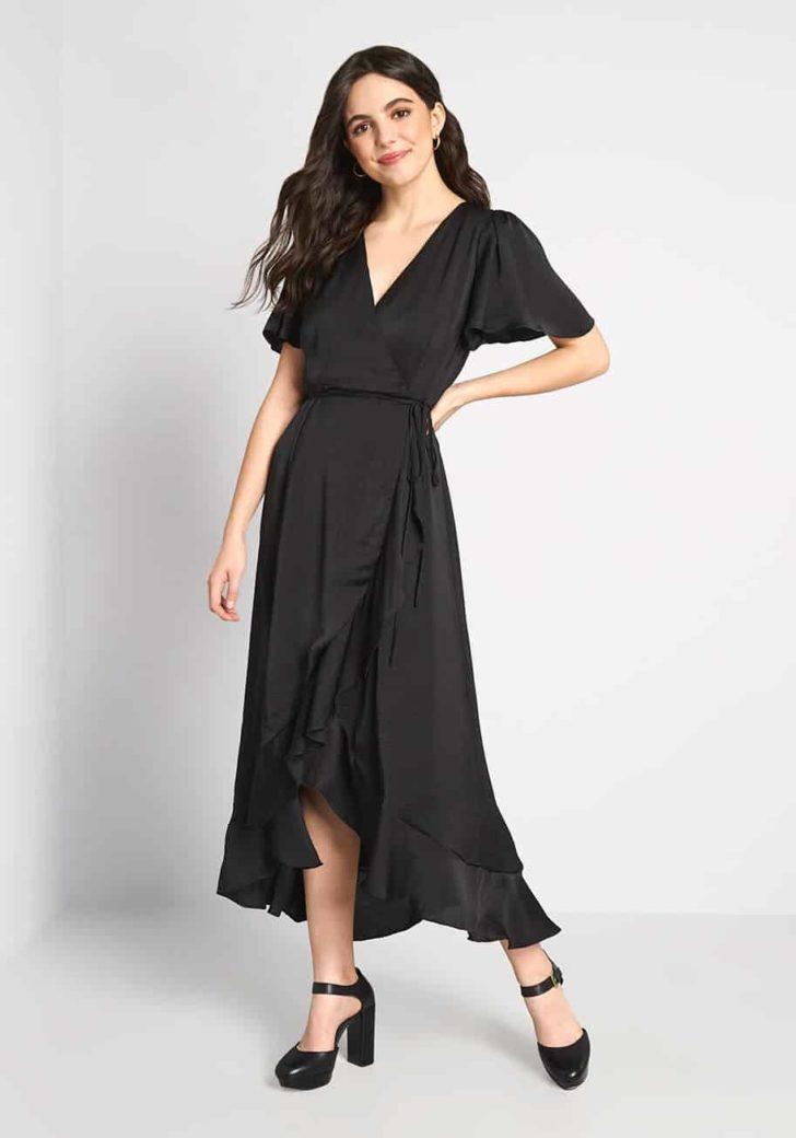 Stunning Wonder Wrap Dress By ModCloth