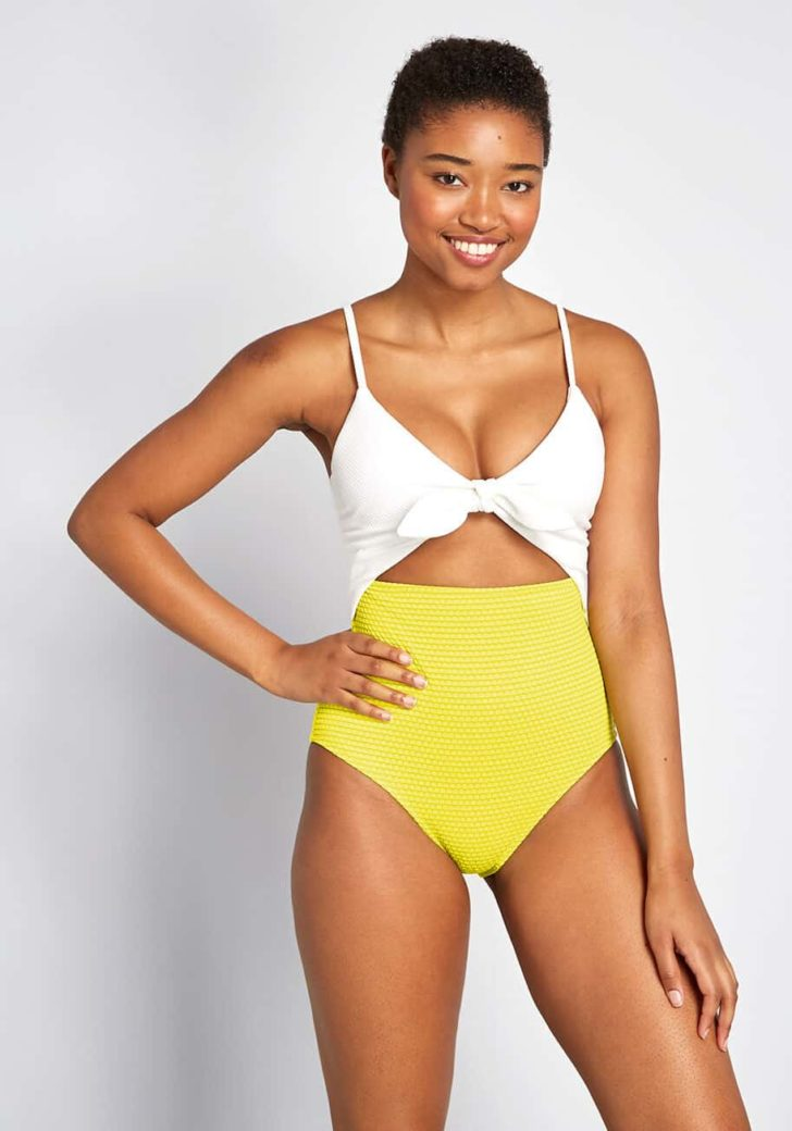 The Siena One-Piece Swimsuit By ModCloth