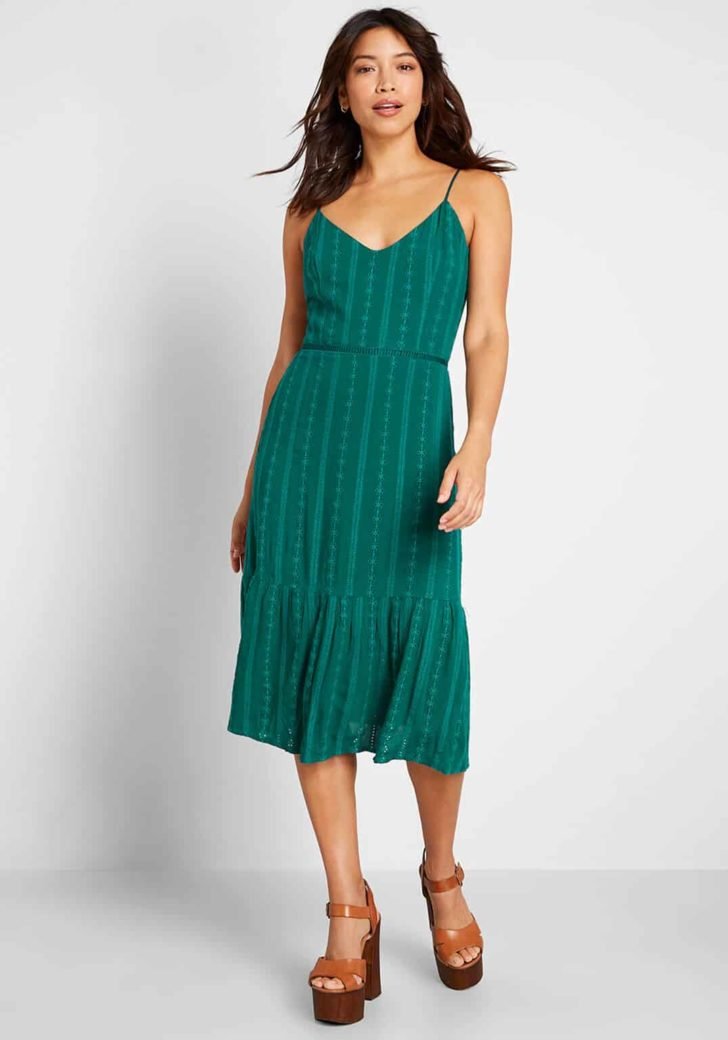 Cherish the Day Midi Dress By Jack by BB Dakota