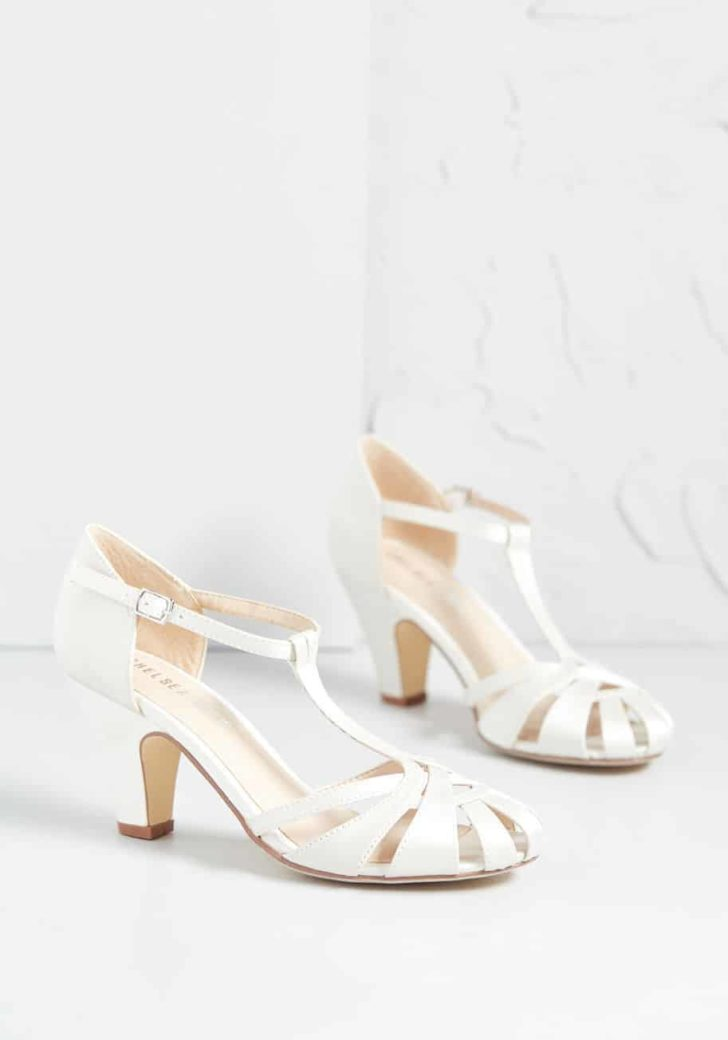 There Chic Goes T-Strap Heel By Chelsea Crew