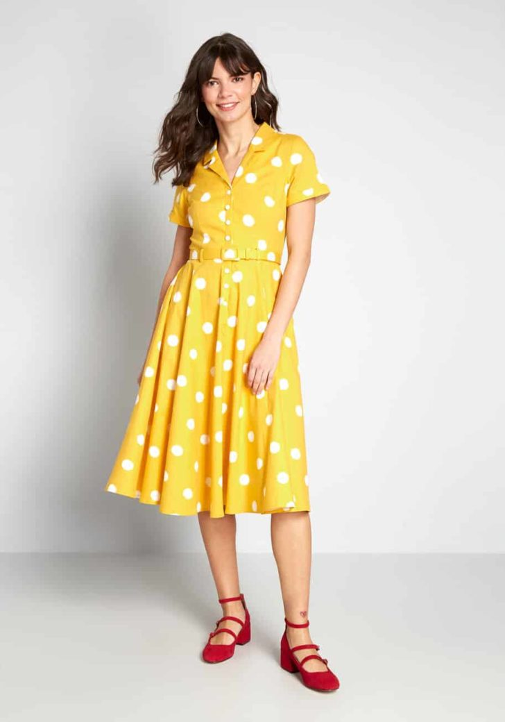 ModCloth x Collectif Cherished Past Midi Dress By Collectif