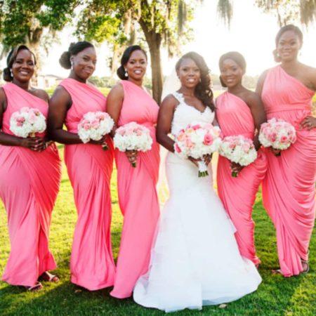 Pia Gladys Perey bridesmaids