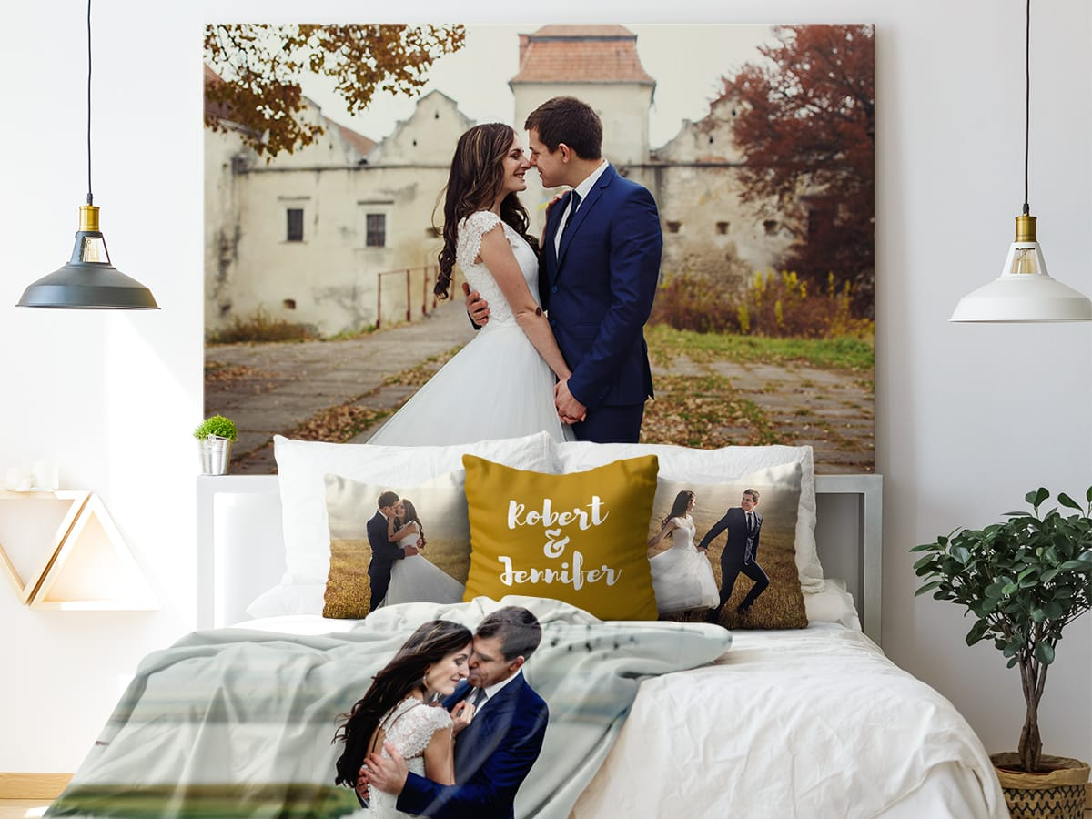 canvas discount - print your wedding photos