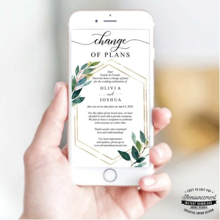 ReSave The Date Template