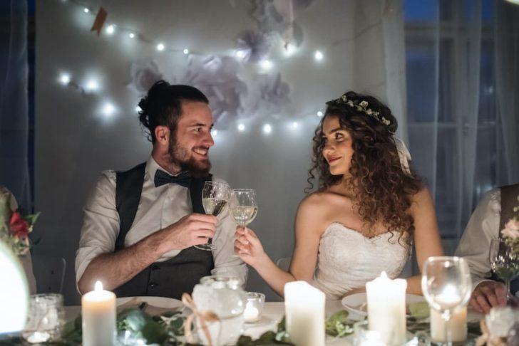 virtual wedding at home