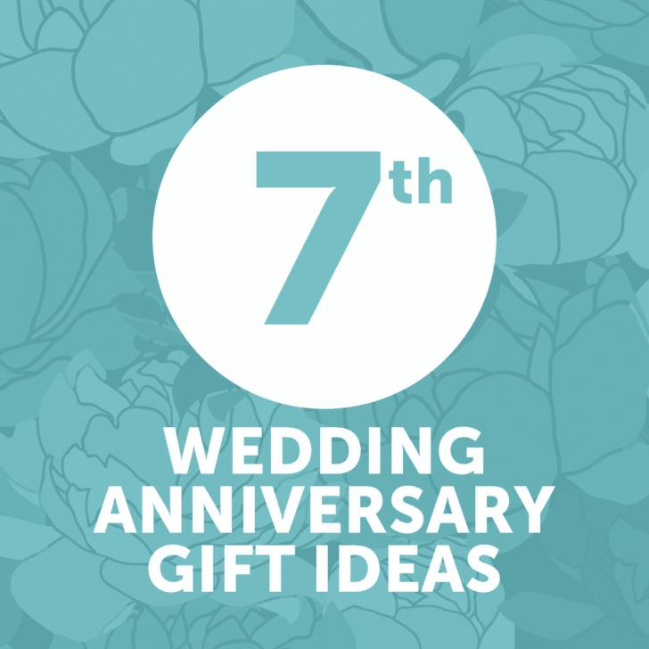 seventh wedding anniversary gift ideas - year 7