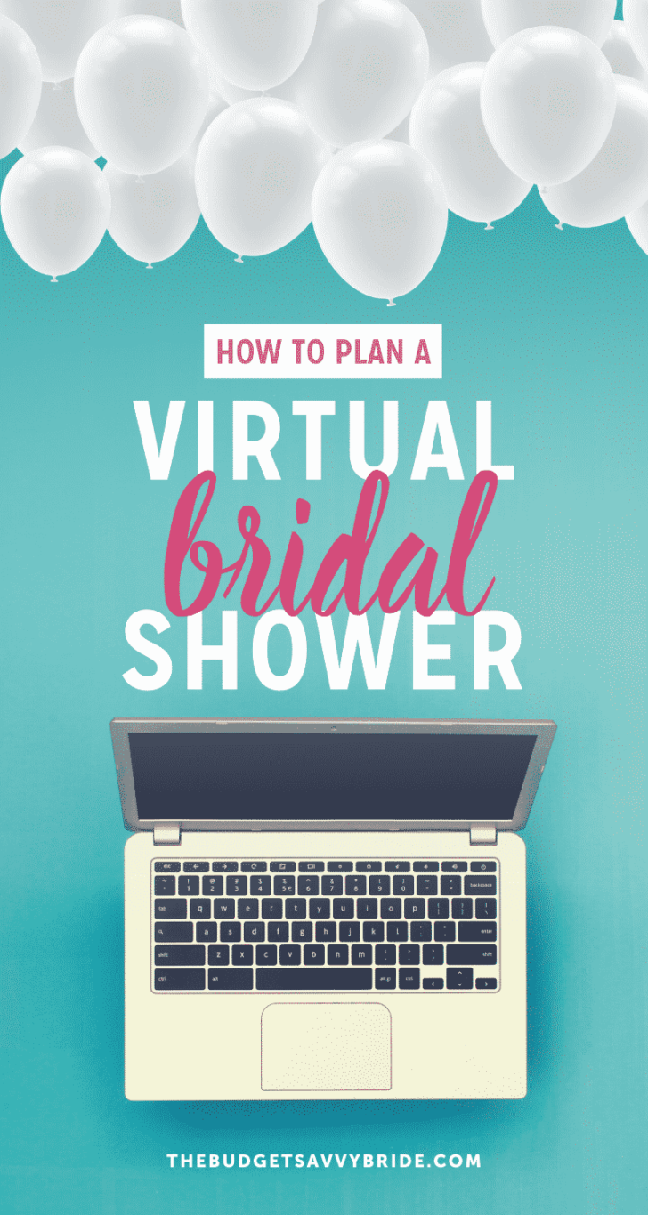 planning a virtual bridal shower