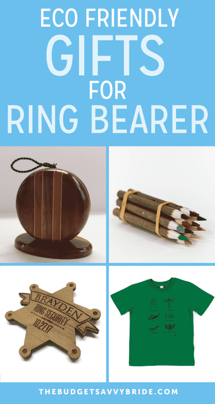 Eco Friendly Gifts For Ring Bearers
