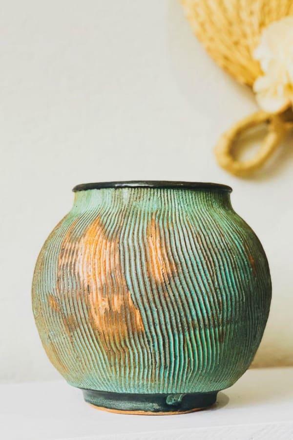 Fine Art Ceramic Vase