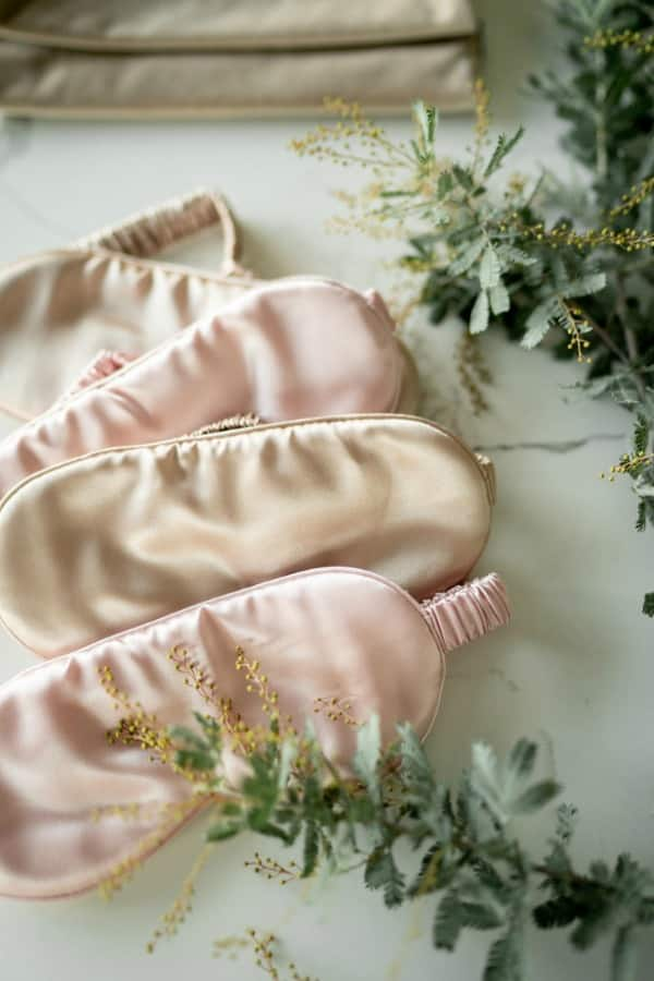 Silk Eye Mask - eco-friendly bridesmaids gift ideas