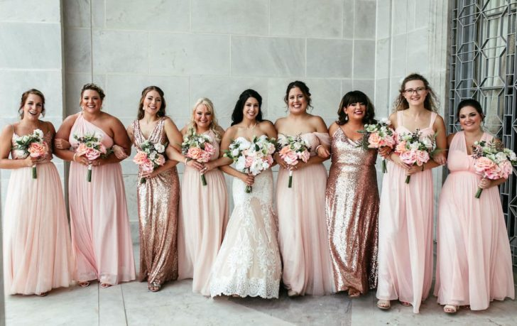 Rent stunning silk flower arrangements for your wedding from Something Borrowed Blooms!