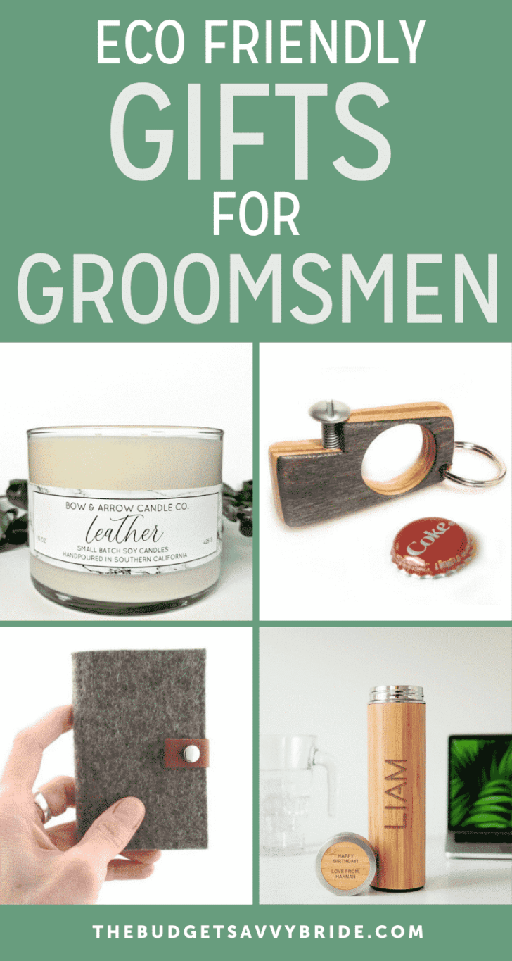 eco friendly gifts for groomsmen