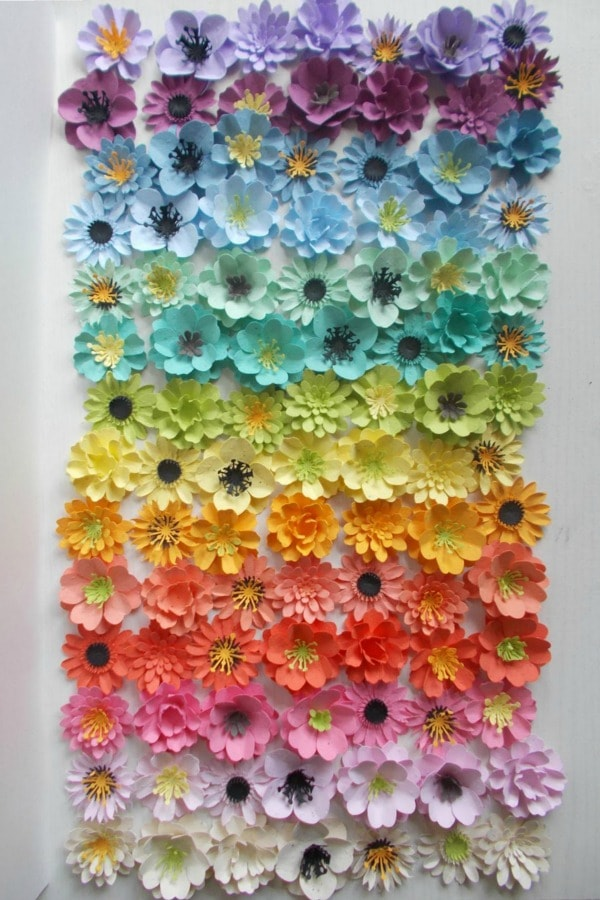 Plantable Seed Paper Flowers