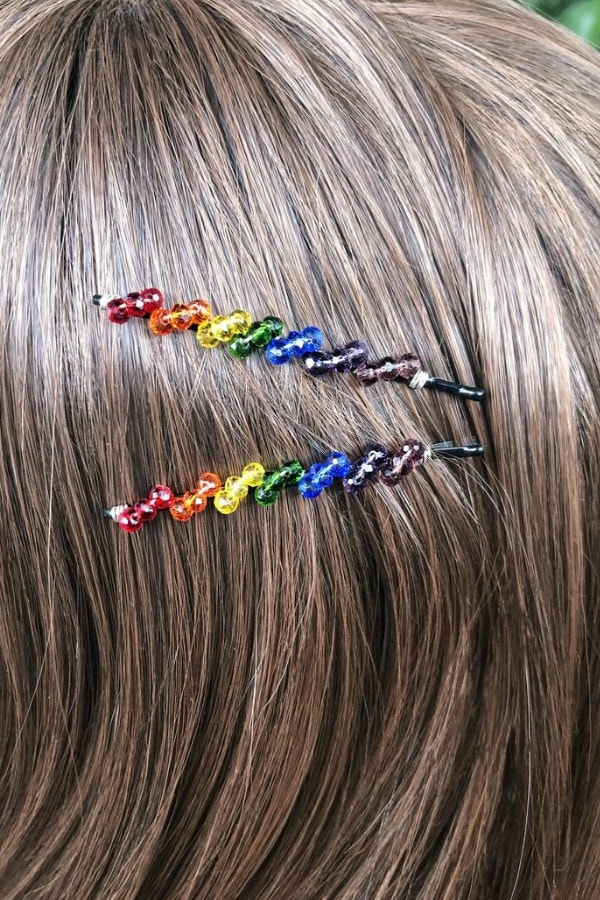 Rainbow Bobby Pin Set