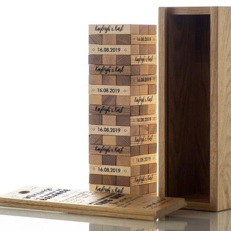Tumbling Blocks Game Guestbook