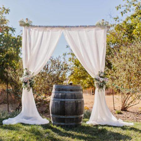 wedding altar - ceremony alter - ceremony backdrop from Rent My Wedding