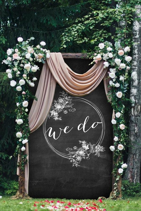 Custom Wedding Backdrop