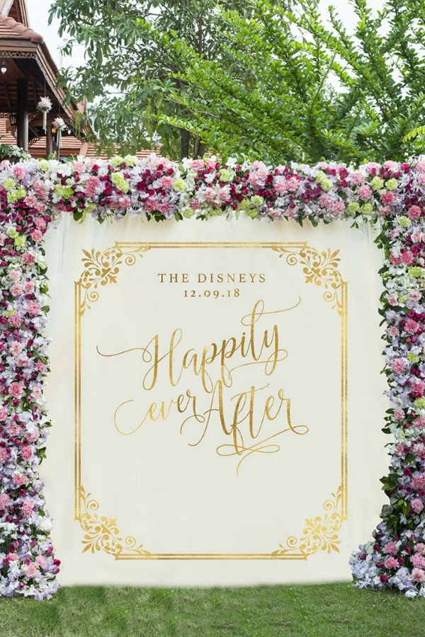 Happily Ever After Backdrop