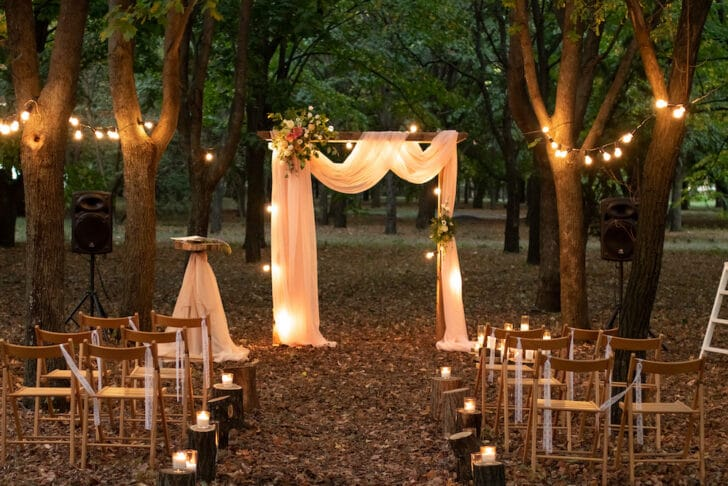 small budget wedding