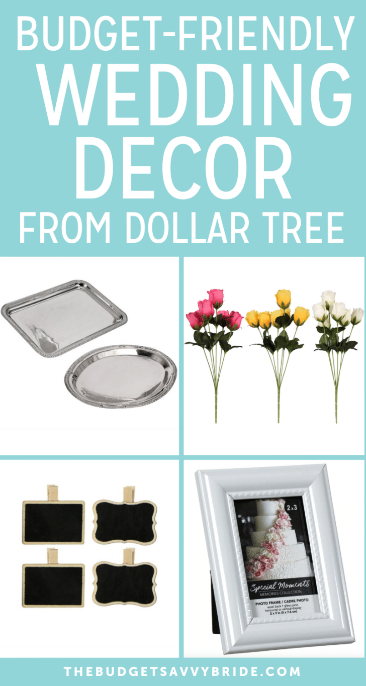 Cheap doesn't have to mean low-quality. Dollar Tree wedding decor is an excellent option for saving money without sacrificing your look.