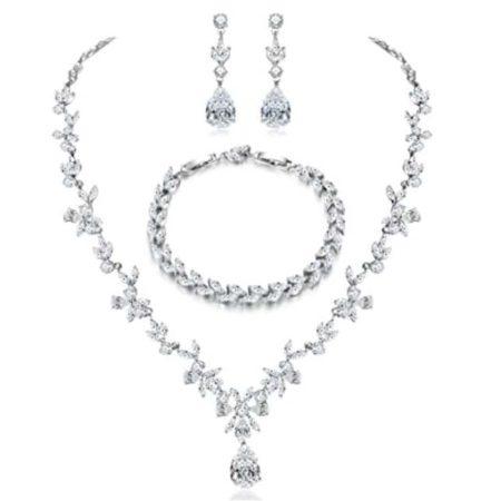 Bridal Jewelry Set by Hadskiss Jewelry