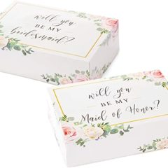 Pop Fizz Designs - Bridesmaid Proposal Box Set | 6 Pack | Floral