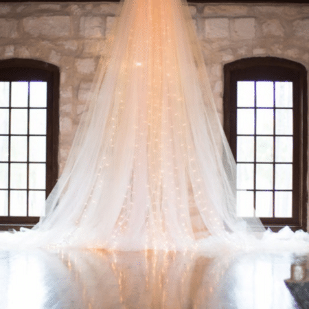 Cascading Tulle Backdrop