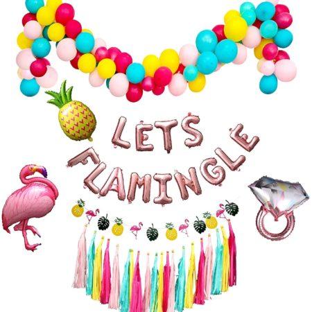Flamingo Decorations Kit