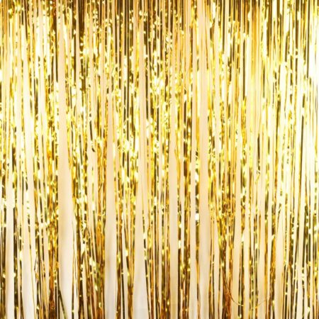 Gold Foil Fringe Backdrop
