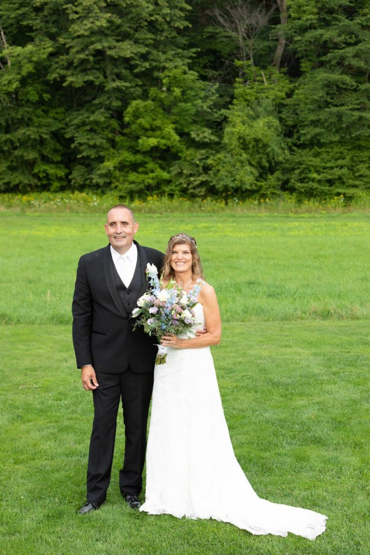 Intimate Outdoor Vermont Wedding for $22K