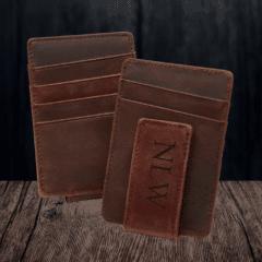 Grain+Oak Monogrammed Money Clip