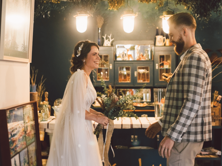 planning a wedding first look