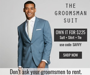 the groomsman suit SAVVY AD