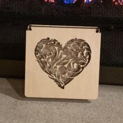 Laser-Cut Wood Ring Box from BlackSheepCreationsM on Etsy