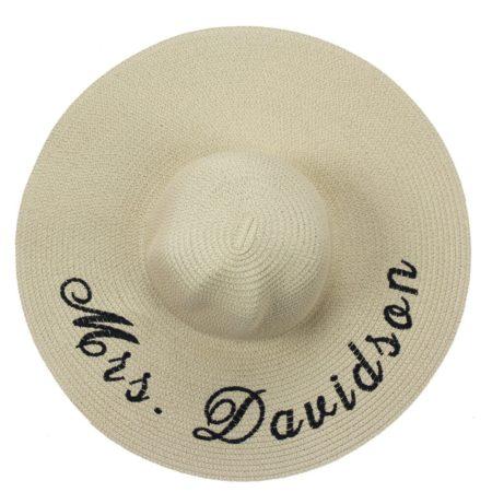 Personalized Floppy Sun Hat
