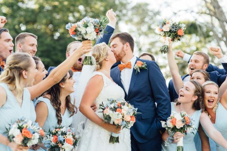 The Groomsman Suit - photo by Alison Dunn Photography